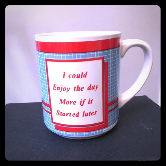 Vintage Other - Funny mug, coffee cup